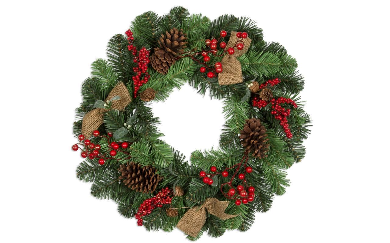 December plans for fayetteville triad asheville and chlt for Christmas wreath