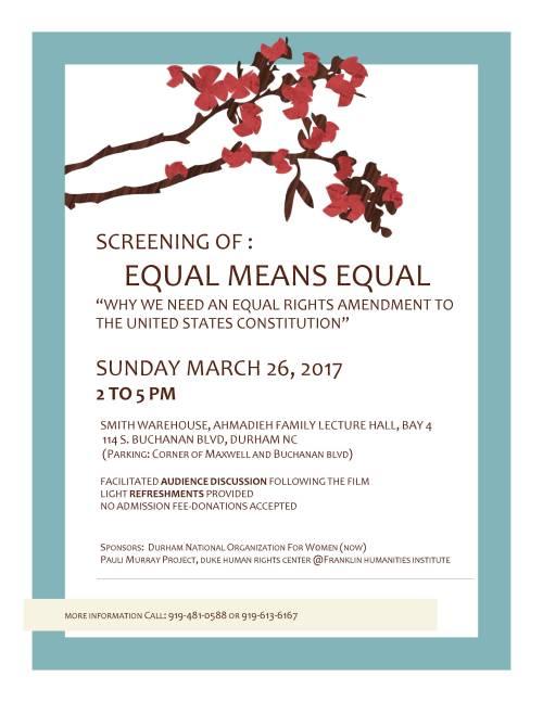 equalmeansequalposter-durham-26mar17