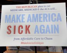 Make America Sick Again Sign