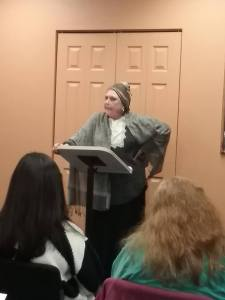 """""""Ain't I A Woman"""" read by Suzanne Schweikert"""