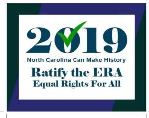 2019 Ratify the ERA Postcard Front