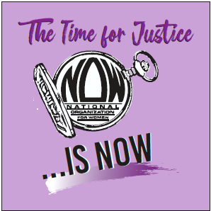 2019 Conference Logo - The Time For Justice Is NOW